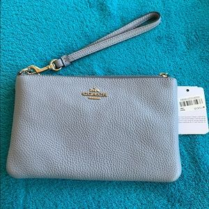 Authentic Coach Phone Wristlet